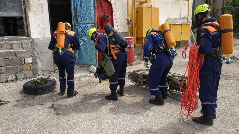 Специалисты «КРЫМ-СПАС» продолжают проводить тренировочные занятия