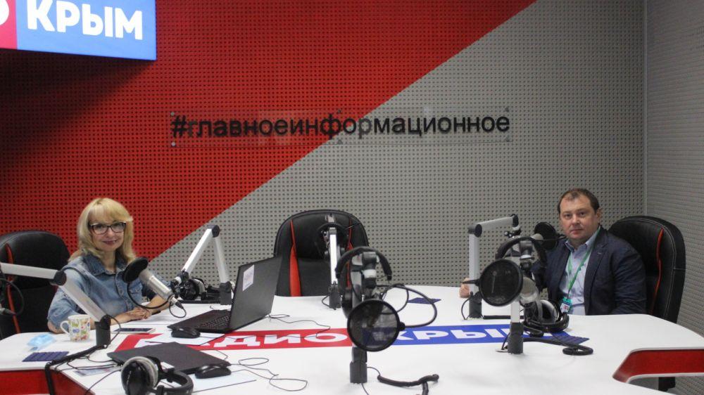 Заместитель Министра чрезвычайных ситуаций Республики Крым в эфире радио «Крым»