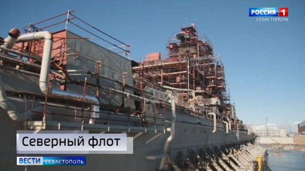 Атомный ракетный крейсер «Адмирал Нахимов» будет модернизирован