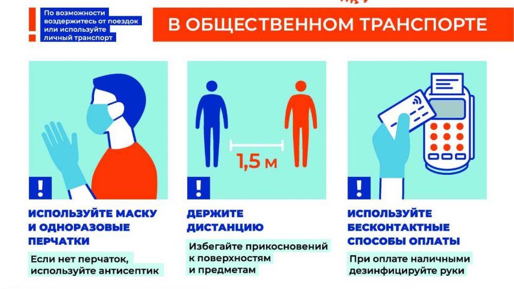 На объектах транспортной инфраструктуры и общественном транспорте Республики Крым вводятся дополнительные меры для противодействия распространению коронавирусной инфекции