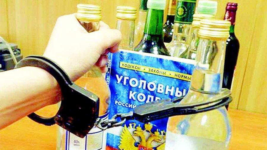 Двое жителей Судака организовали подпольный цех по производству алкоголя