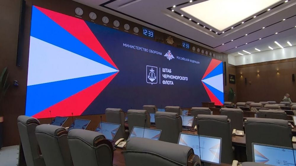 Завершена реставрация здания штаба Черноморского флота