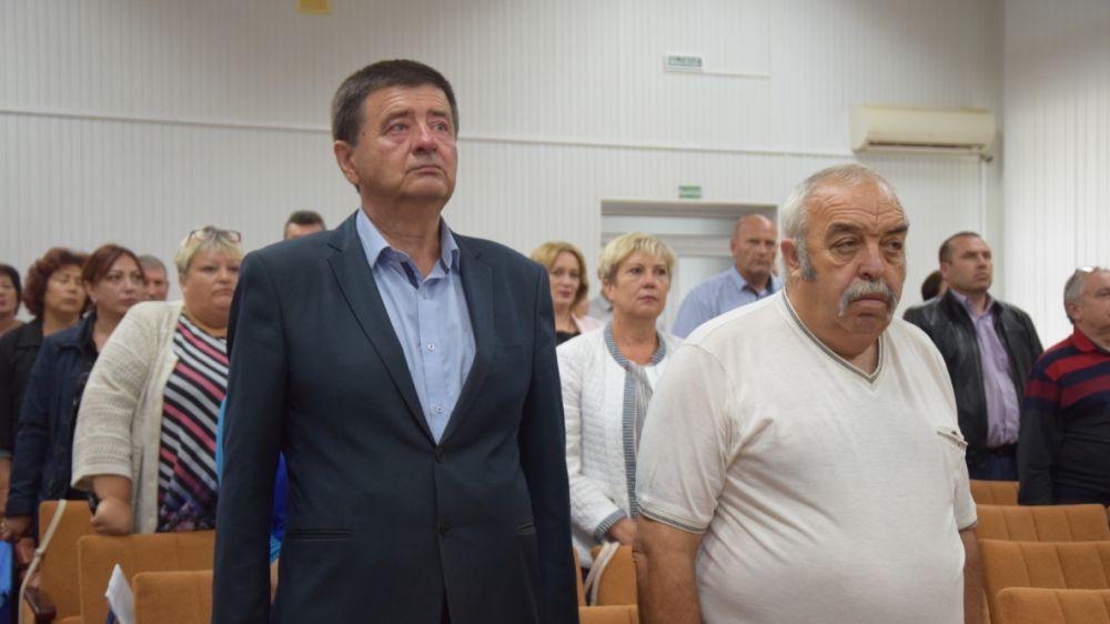 Состоялось заседание Красногвардейского районного совета