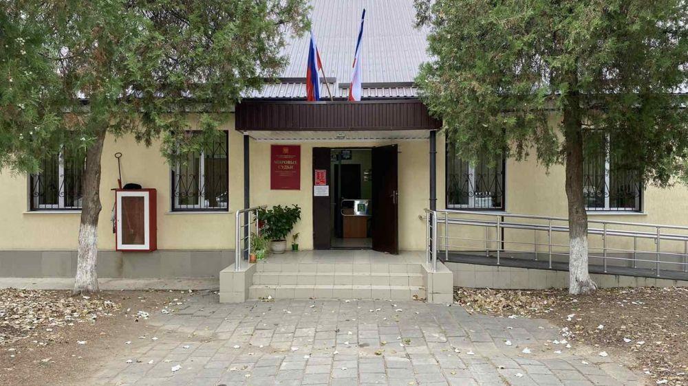 Минюст Крыма продолжает планомерно проводить работу по улучшению условий размещения судебных участков мировых судей