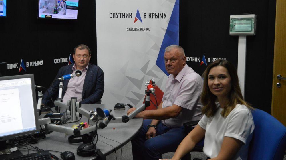 О развитии гражданской обороны в Крыму и Российской Федерации в эфире радио «Спутник в Крыму»