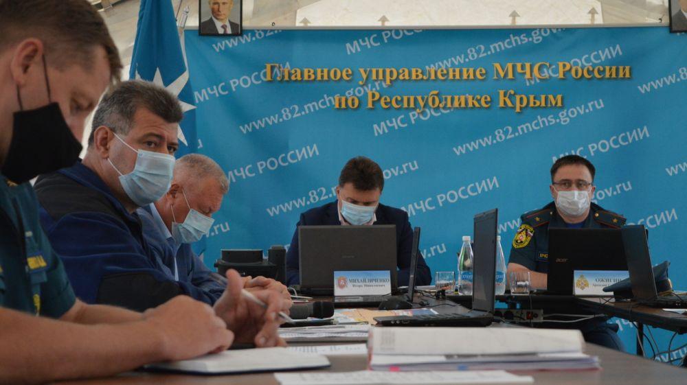 Сергей Шахов: мероприятия штабной тренировки по гражданской обороне в Республике Крым выполняются в полном объеме