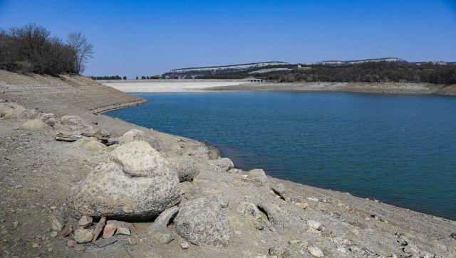 Безводный месяц: сколько воды осталось в водохранилищах Крыма