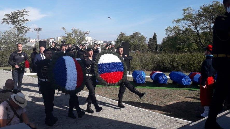В Севастополе перезахоронили французов, погибших в Крымской войне