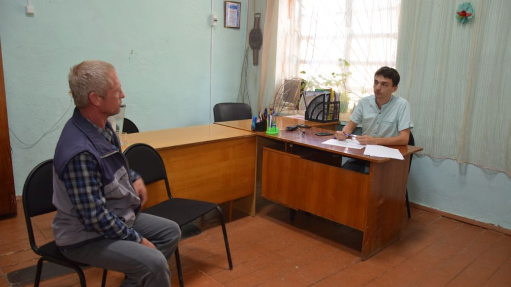 Встреча с жителями с.Тимашовка