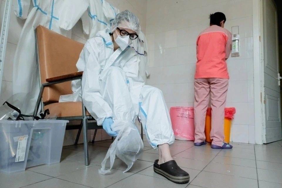 В Симферополе не хватает врачей для больных COVID-19
