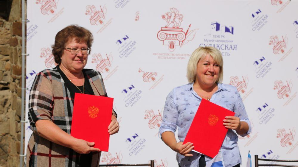 При поддержке Министерства культуры Крыма подписано соглашение о межмузейном сотрудничестве