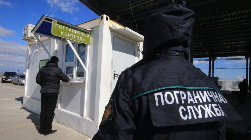 Двое мужчин пытались прорваться в Крым с Украины