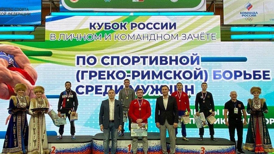 Симферополец Эмин Сефершаев – обладатель Кубка России по греко-римской борьбе!
