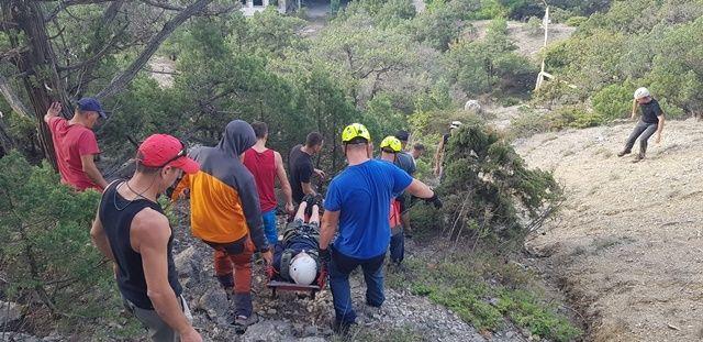 В Крыму спасли 17 человек