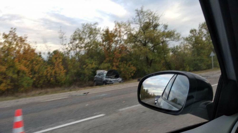 В Крыму столкнулись автобус и две легковушки, есть погибшие