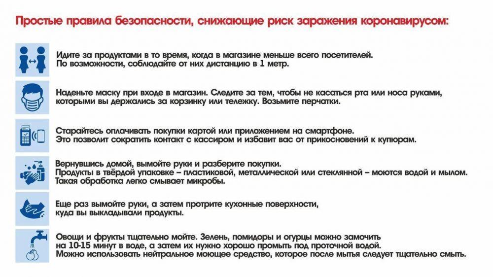 МЧС Республики Крым информирует: правила защиты от вирусов в магазине