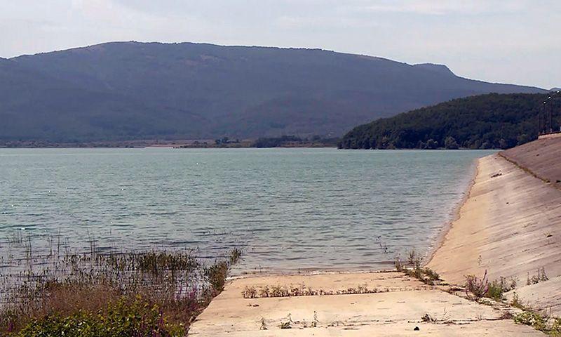 Запасов воды Чернореченского водохранилища хватит на 81 день