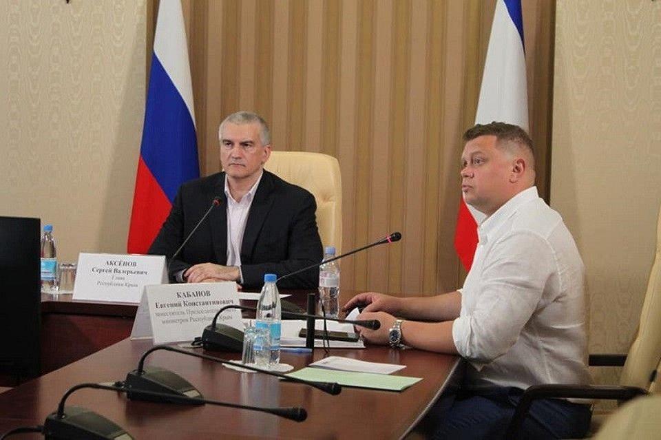 У зампреда Совмина Крыма Кабанова нашли коронавирус