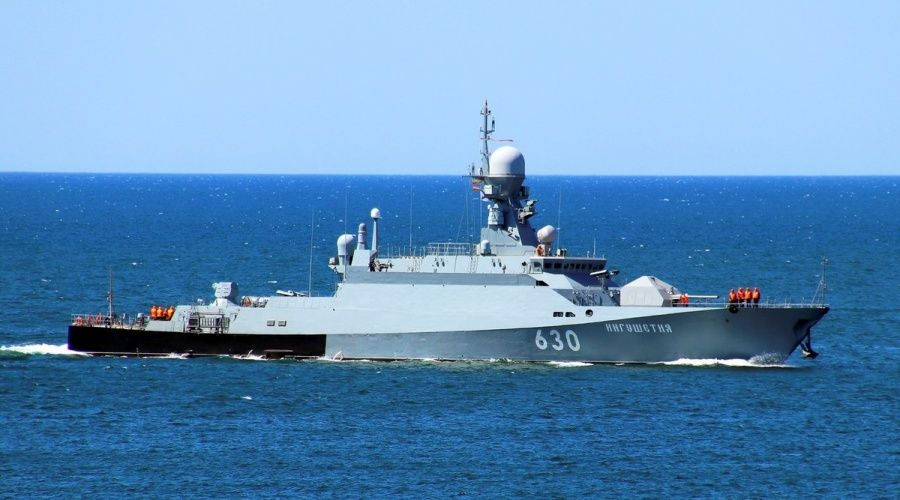 Корабль ЧФ «Ингушетия» направляется в Средиземное море