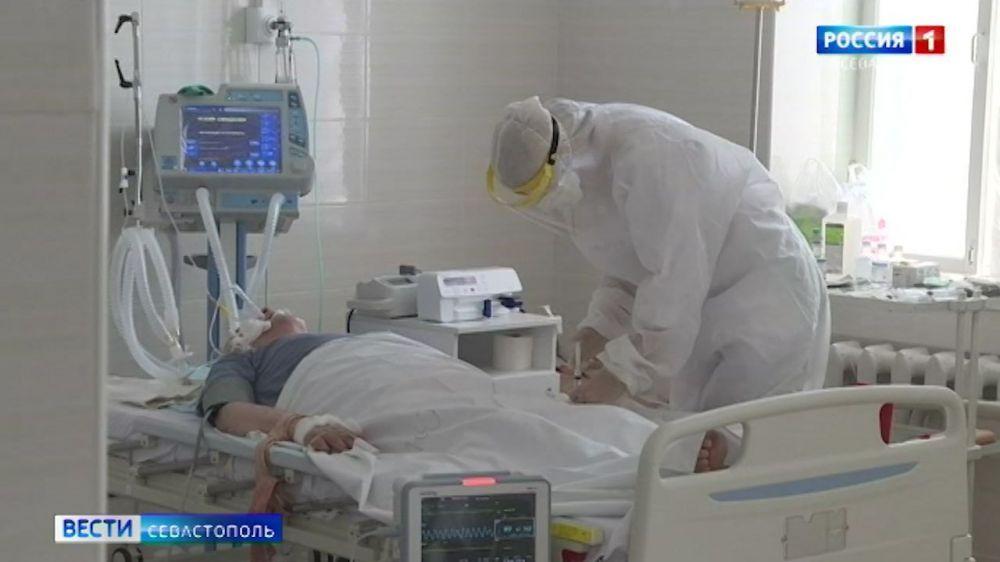 В Севастополе обсерватор «Изумруд» почти заполнен пациентами с COVID-19