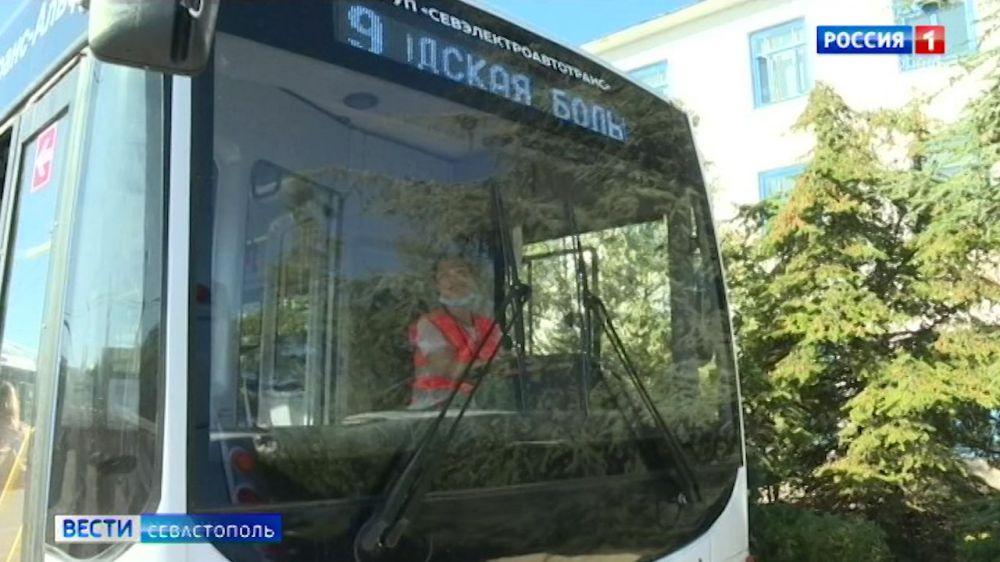 В Севастополе идет набор на курсы водителей троллейбуса