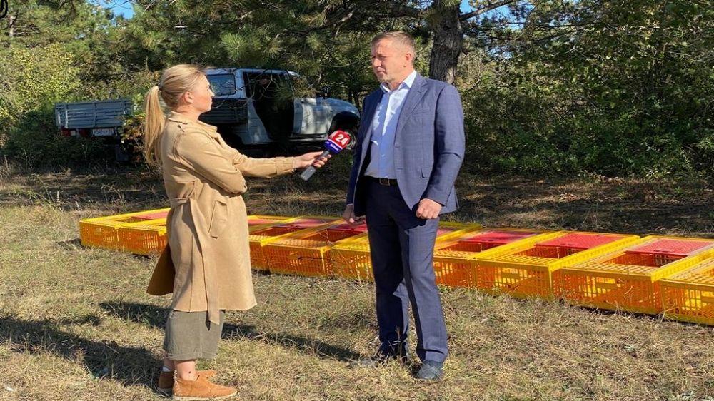 Геннадий Нараев принял участие в расселении фазана на территории общедоступного охотничьего угодья Добровское