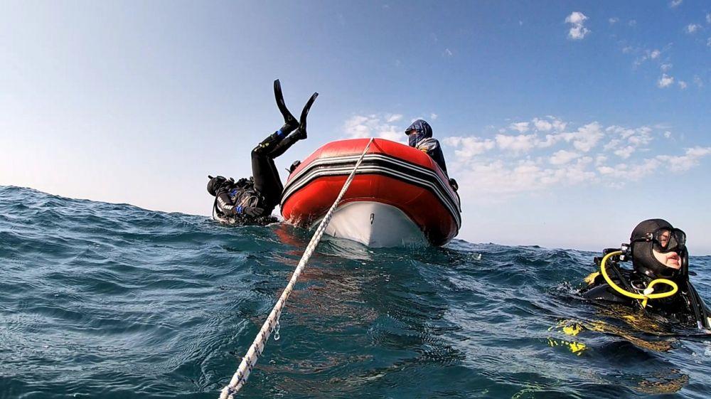 Водолазы – спасатели ГКУ РК «КРЫМ-СПАС» завершили тренировочные сборы по ведению поисково–спасательных работ