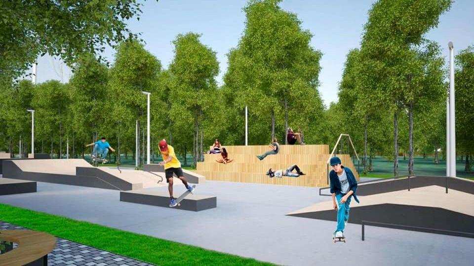 В Мойнакском парке появится скейт-парк