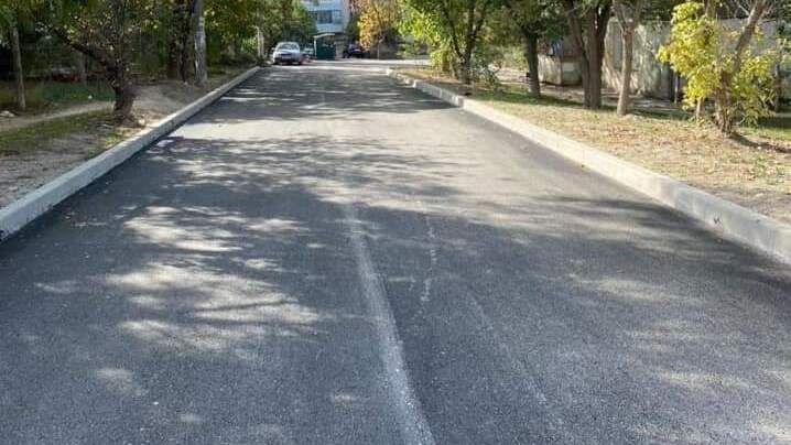 В Бахчисарае закончен ремонт межквартального проезда от переулка Музыкальный до улицы Фрунзе