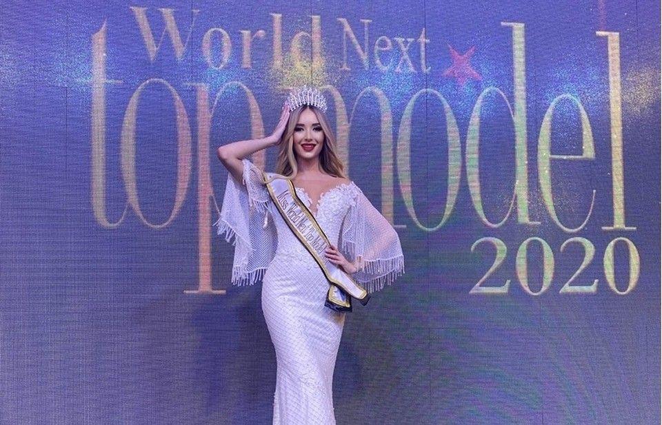Модель из Крыма заняла первое место в конкурсе красоты в Бейруте