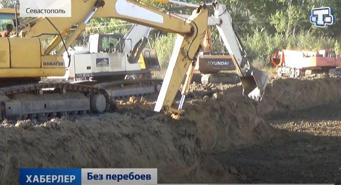 В Севастополе на реке Бельбек начали строить водозабор