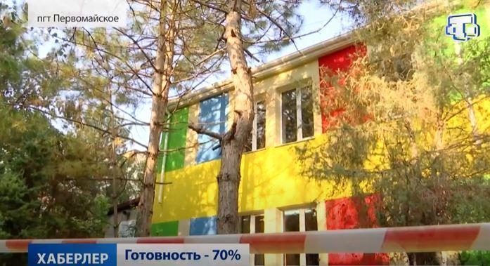 Капремонт поликлиники в Первомайском районе идёт полным ходом