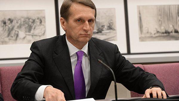 США планирует устроить революцию в Молдавии после выборов – Нарышкин