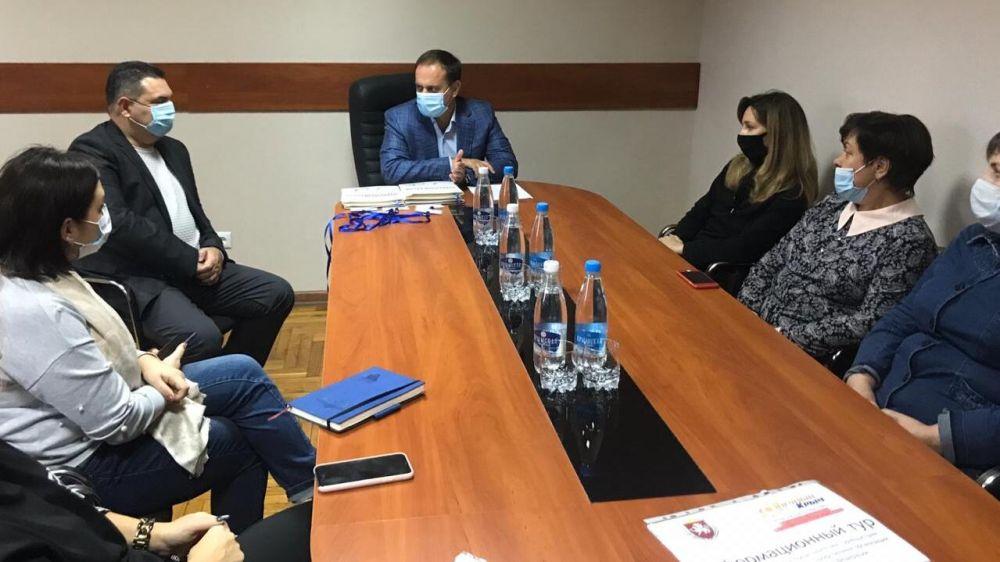 Стартовал инфотур для руководителей промышленных предприятий России по Крыму