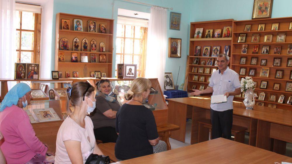 Сотрудники Музея-заповедника «Судакская крепость» провели лекцию к 150-летию известного крымского ученого и священнослужителя