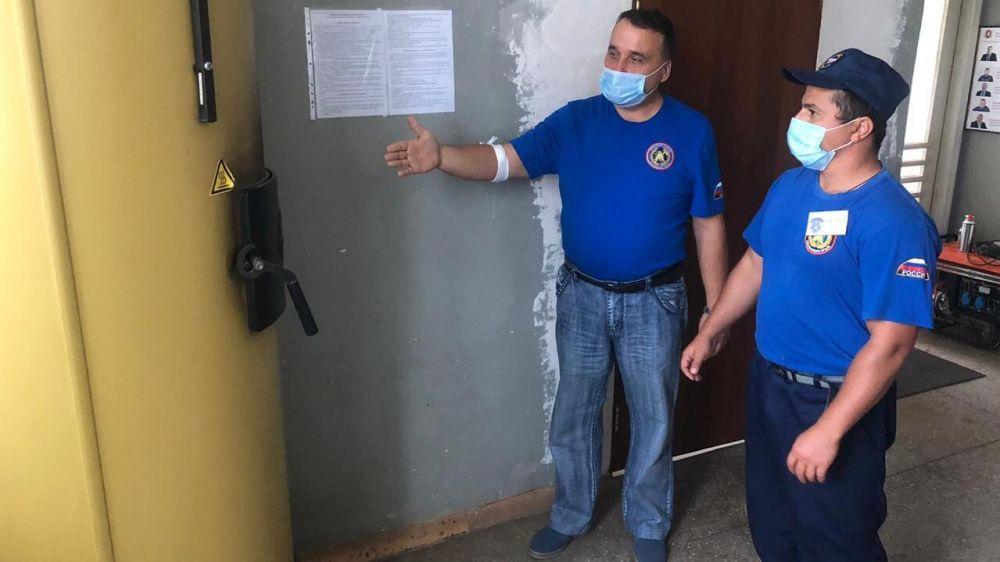 Проверка боеготовности подразделений ГКУ РК «Пожарная охрана Республики Крым» к зиме продолжается
