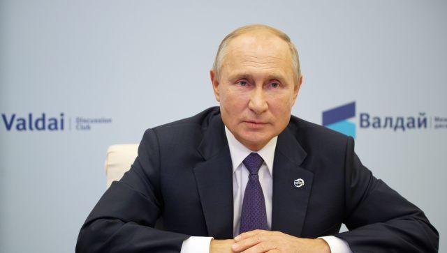 Как бы не простудиться на ваших похоронах: Путин ответил оппонентам РФ