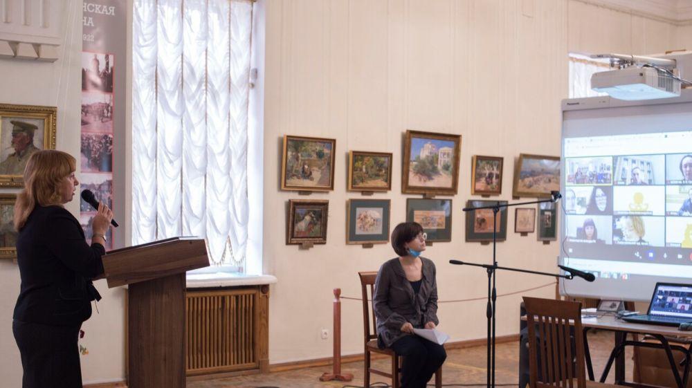Состоялось открытие XXV Крымских искусствоведческих чтений