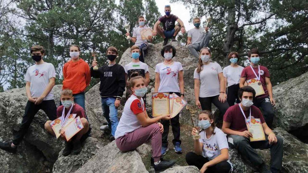 В Ялте прошли республиканские соревнования по скалолазанию