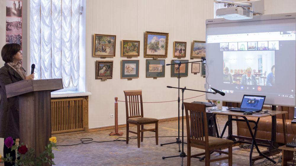 В Симферопольском художественном музее состоялся научно-методический онлайн-семинар