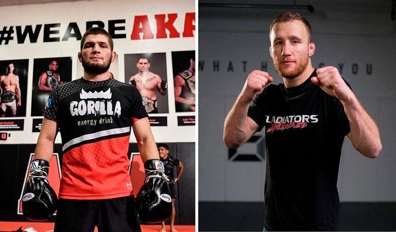 Хабиб Нурмагомедов - Джастин Гейджи 24октября UFC 254