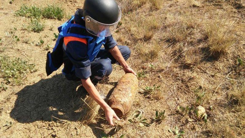 В Ленинском районе пиротехники уничтожили 13 взрывоопасных предметов времен ВОВ