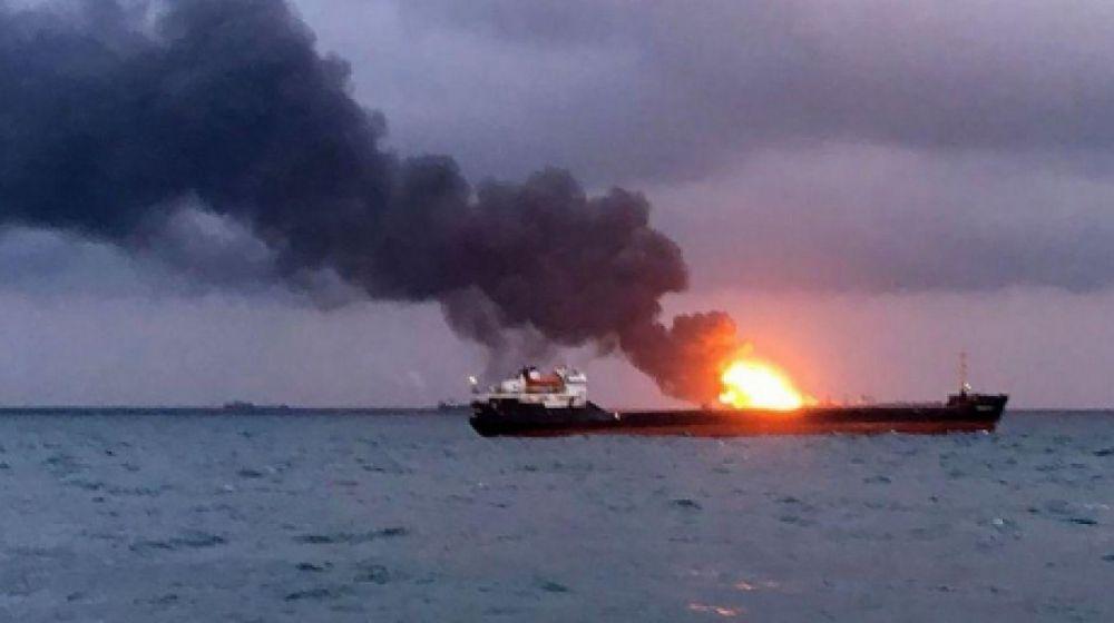 Танкер в Керченском проливе получил серьезные повреждения - Росморречфлот