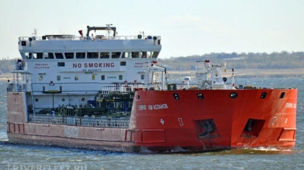 В Керченском проливе произошёл взрыв на танкере
