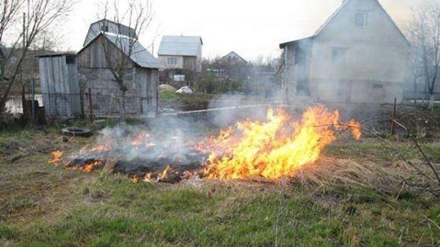 МЧС Крыма: Находясь на дачном участке, строго соблюдайте правила пожарной безопасности!