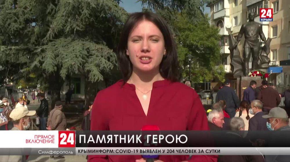 Сегодня в Симферополе открыли памятник дважды Герою Советского Союза Амет-Хану Султану
