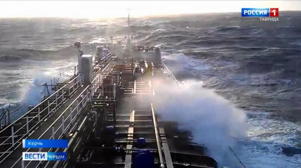 На нефтяном танкере в Азовском море прогремел взрыв