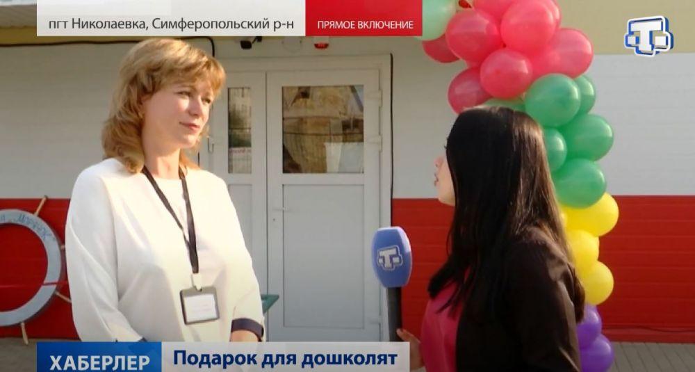 Новый модульный детский сад построили в Николаевке