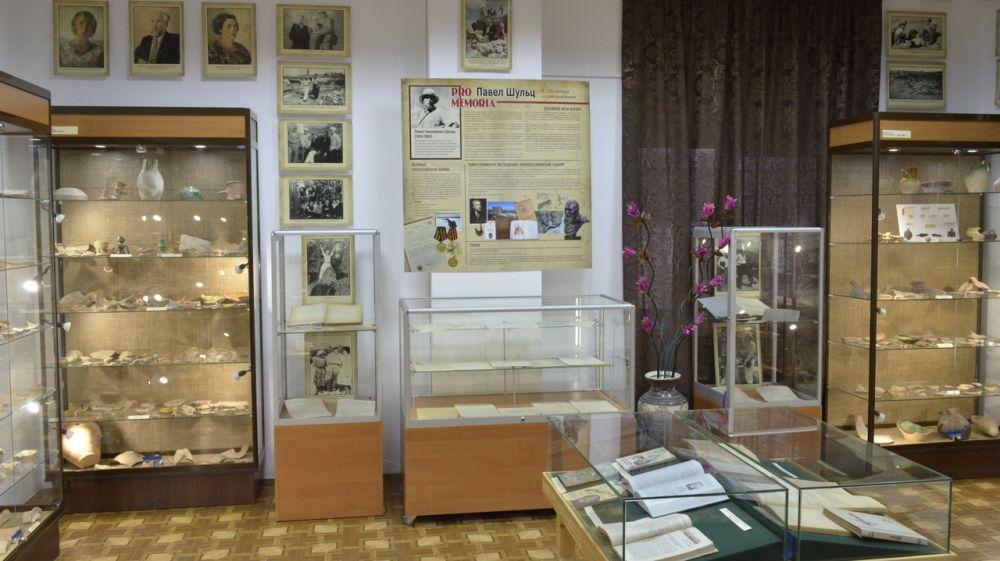 Выставка к 120-летию археолога Павла Шульца открылась в Музее-заповеднике «Судакская крепость»