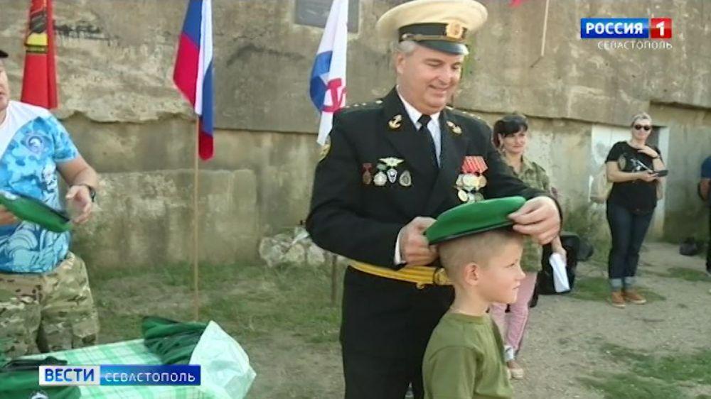 В Севастополе военно-патриотические детские клубы пополнились новыми участниками